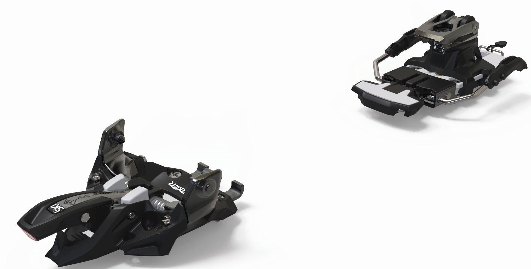 Marker Alpinist 9 Long Travel - black/titanium 90mm