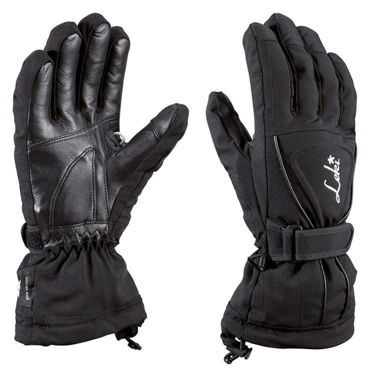 Dámské lyžařské rukavice Leki Lotus S - black silver - Ski a Bike ... db57cc601a