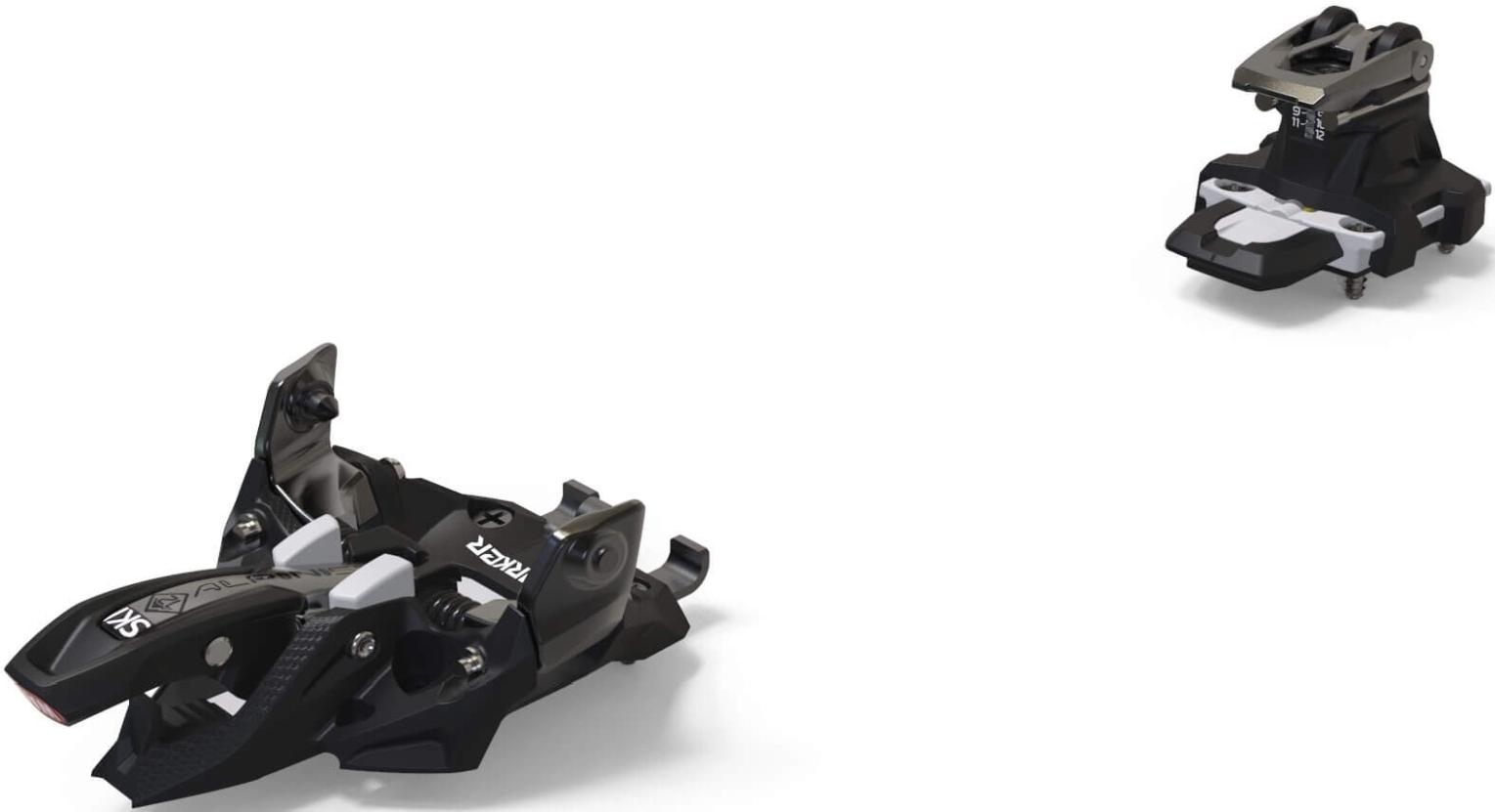 Marker Alpinist 12 - black/titanium 90mm