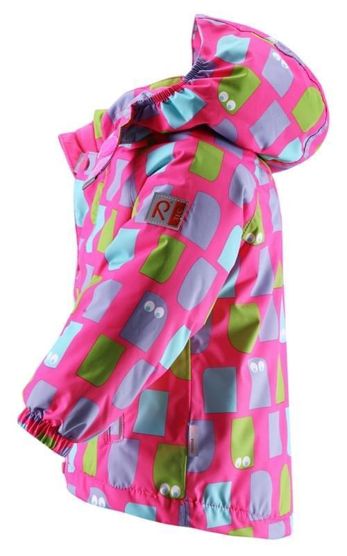 39091be69029 Dětská zimní membránová bunda Reima Zon – neon pink - Ski a Bike ...