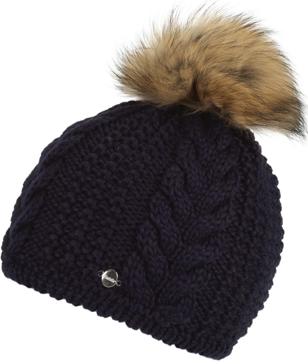 Dámská zimní čepice Eisbär Rafaela Fur MÜ - nacht  Fur naturale ... 68d1b3e709