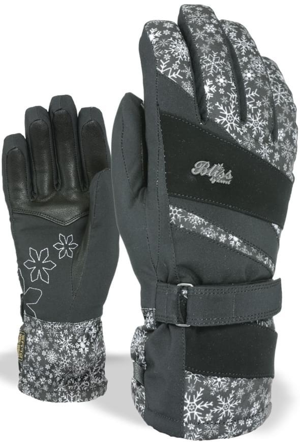 Dámské lyžařské rukavice Level Bliss Venus - PK black - Ski a Bike ... 3a67c7f8da
