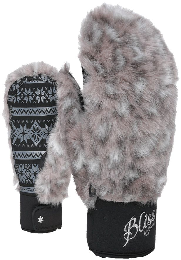 Level Bliss Siberian Mitt - grey 7,5