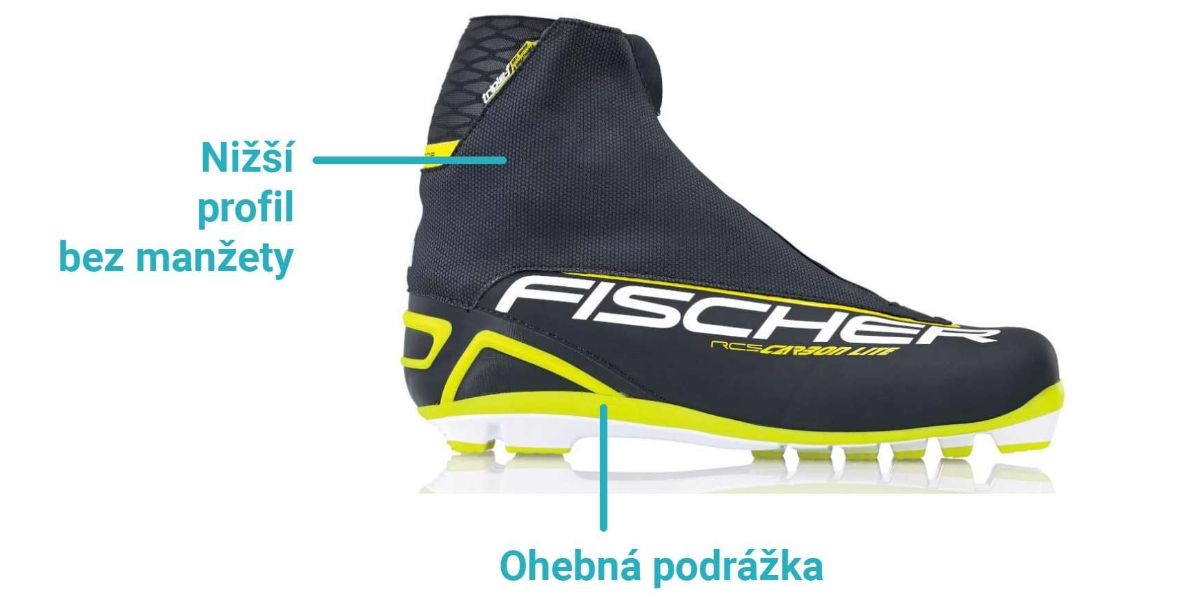 Jak vybrat boty na běžky - Ski a Bike Centrum Radotín 84dc72af2a