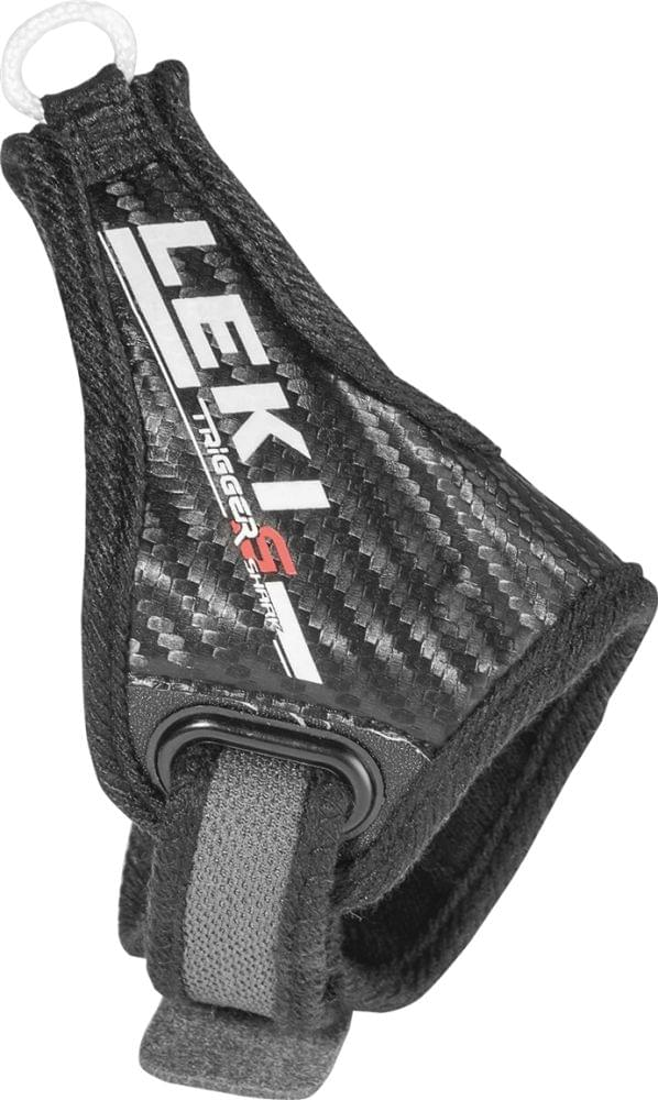Leki Shark Active Strap silver-black M/L/XL