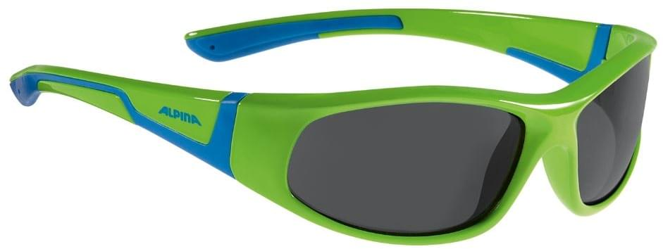 Alpina Flexxy junior - neon green-blue uni