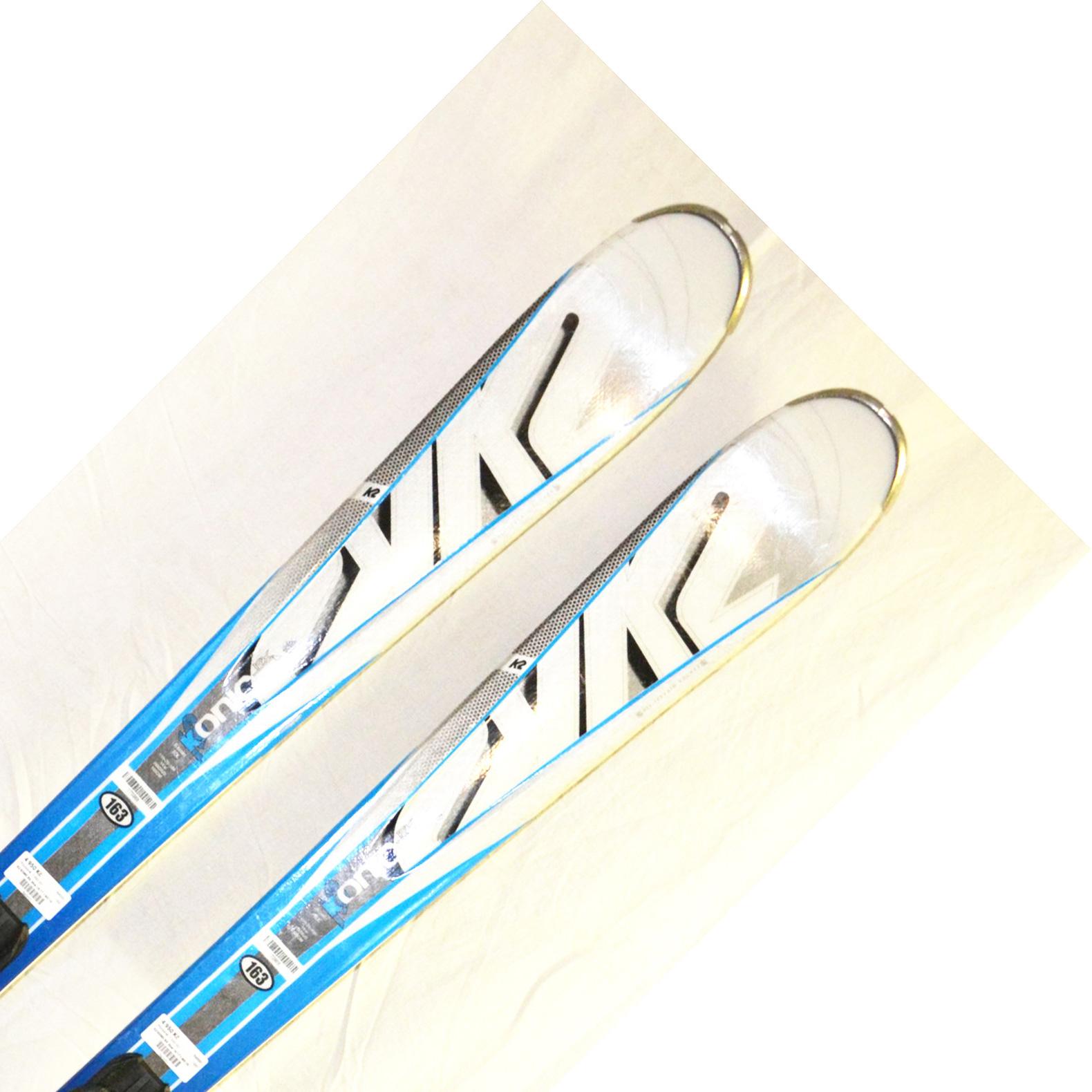 Bazar - Lyže K2 KONIC RX blue 16/17 + M3 10 - délka 163 163