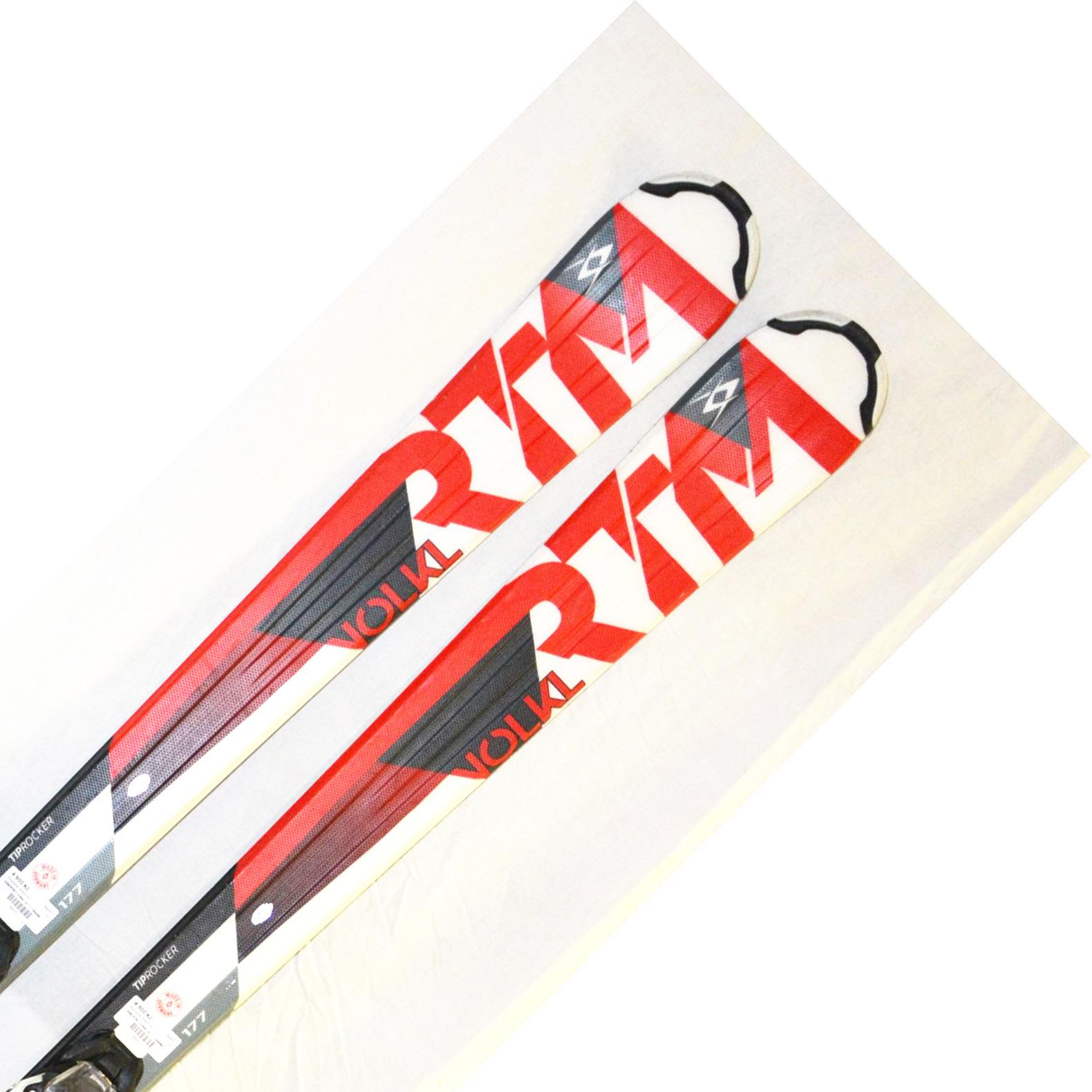 Bazar - Lyže Völkl RTM 7.4 red 16/17 + Marker Fastrek 10.0 - délka 177 177