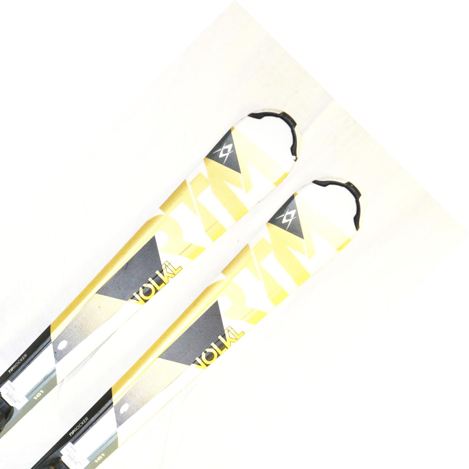 Bazar - Lyže Völkl RTM 7.6 Gold 16/17 + Marker Fastrek 10.0 - délka 161 161