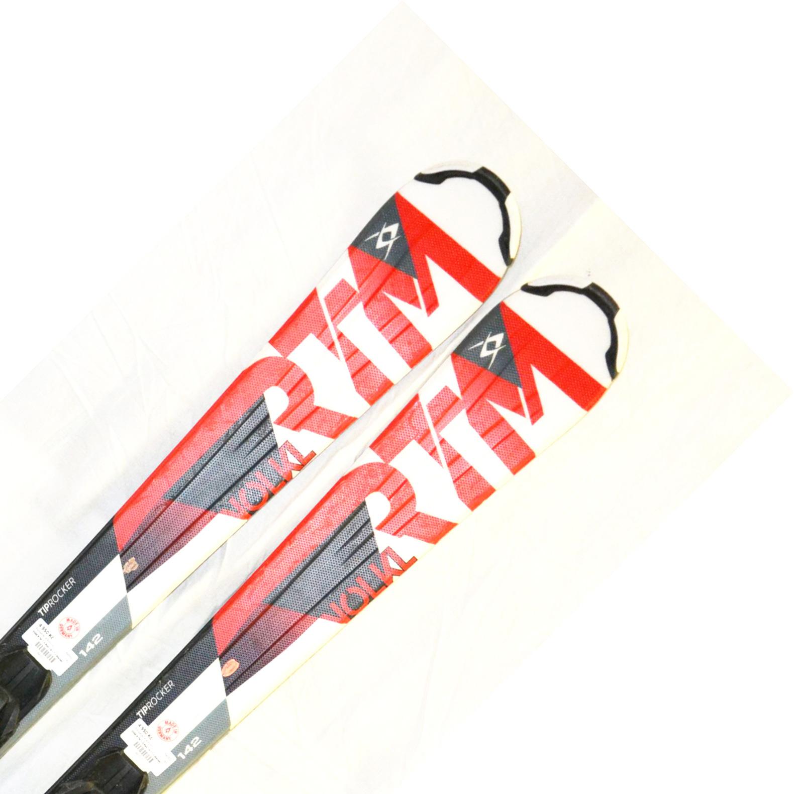Bazar - Lyže Völkl RTM 7.4 red 16/17 + Marker Fastrek 10.0 - délka 142 142