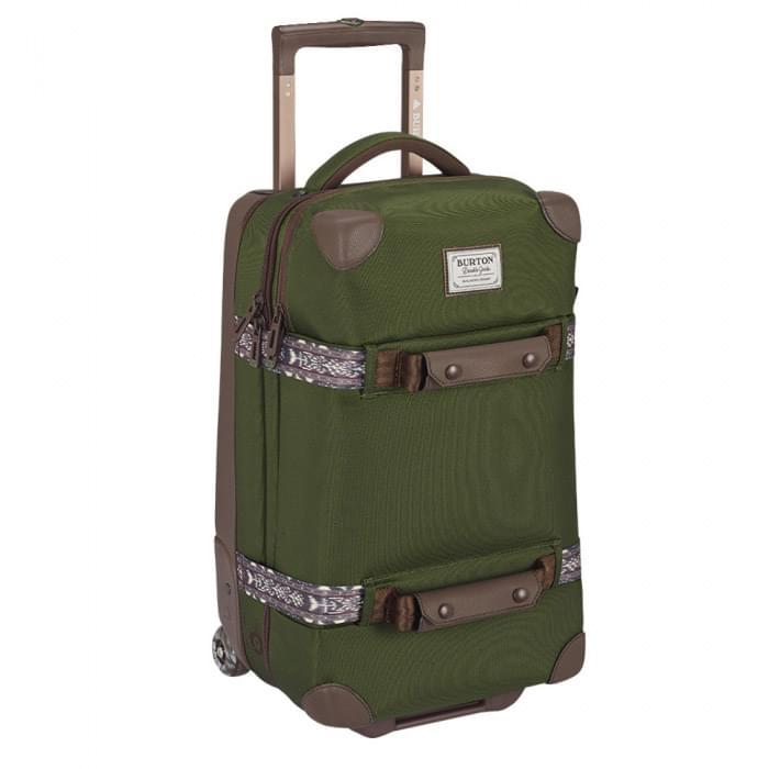Cestovní kufr na kolečkách Burton Wheelie Flight Deck 40l - Rifle Green uni