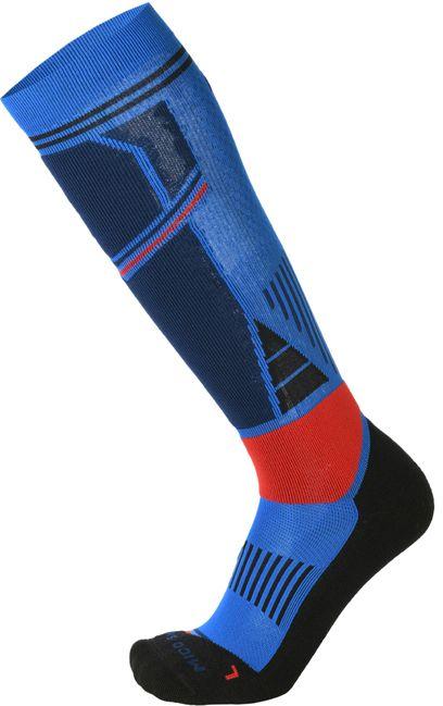 Mico Medium Weight M1 Ski Socks - azzurro/blu 44-46