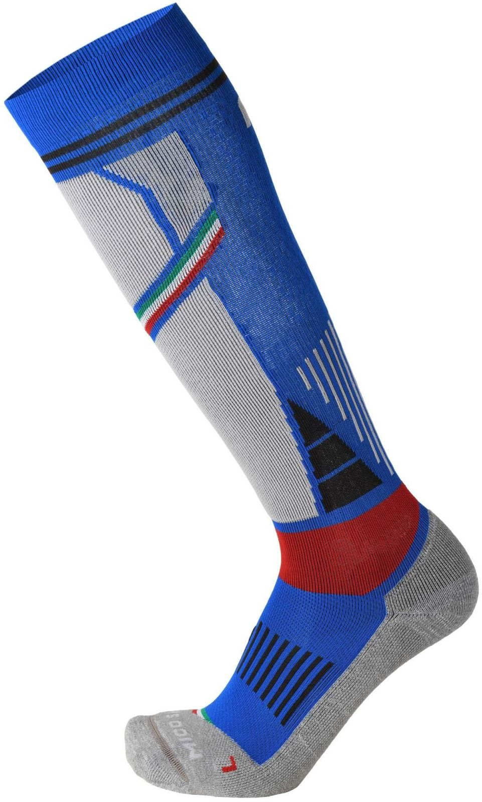 Mico Medium Weight M1 Ski Socks - azzurro/grigio 47-49