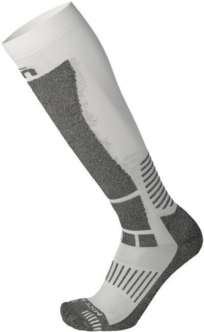 Mico Medium Weight Woman Warm Control Ski Socks - bianco 41-42