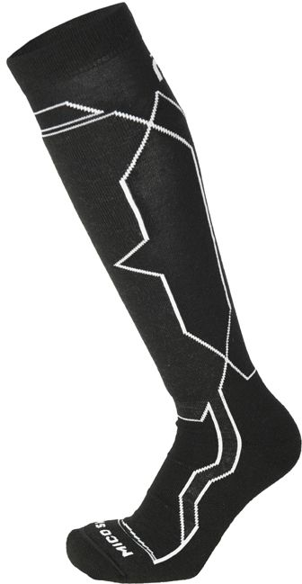 Mico Medium Weight Woman Warm Control Ski Socks - nero 41-42