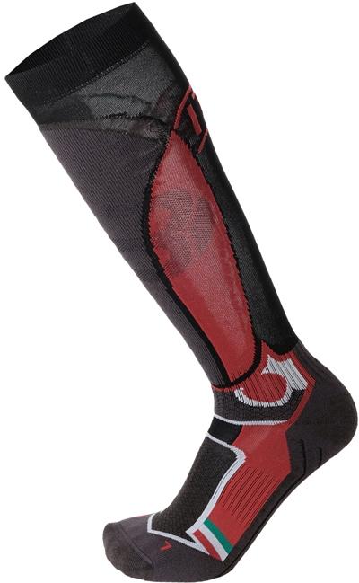 Mico Medium Weight Official Ita Ski Socks - nero 38-40