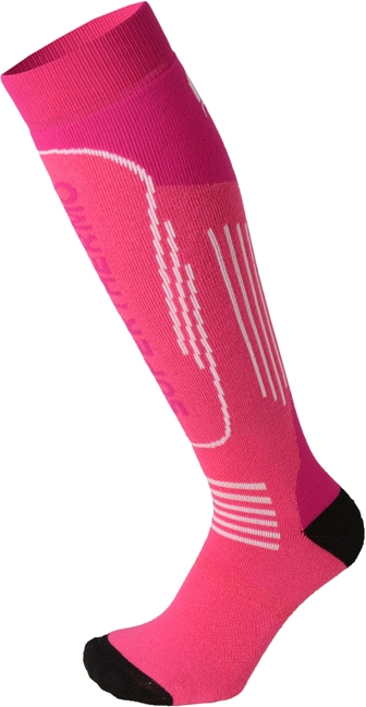 Mico Heavy Weight Superthermo Primaloft Kids Ski Socks - magenta 27-29