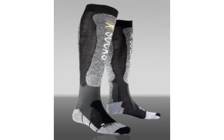 Lyžařské ponožky X-Socks Skiing Light XXL Cuff Men - Anthracite Black ae11c0a735