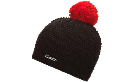 Zimní čepice Eisbär Jamie Pompon MÜ - schwarz-ardea bbe7885cce