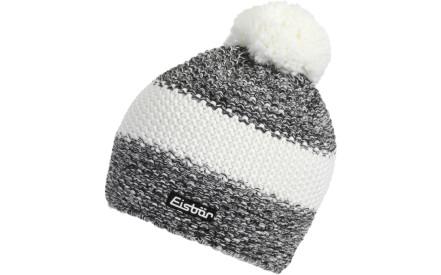 Zimní čepice Eisbär Styler Pompon MÜ - schwarz weissmele white de0e482a17