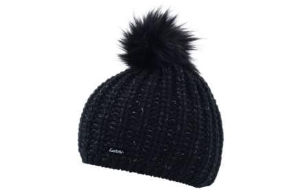 Dámská zimní čepice Eisbär Enisa Lux MÜ - schwarz-schwarz 7f39845c24