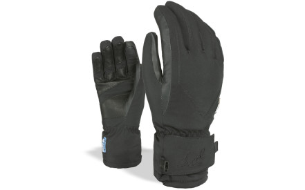 Dámské lyžařské rukavice Level I-Super Radiator W Gore-Tex - Black 322e07972a