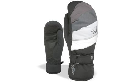 6d22e66597e Dámské lyžařské palčáky Level Ultralite W Mitt - Black-Grey