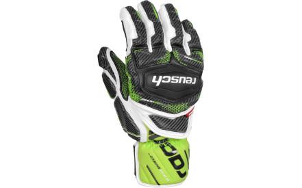 9e801db29bf Lyžařské rukavice Reusch Race Tec 16 GS - white neon green