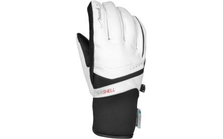 b47c292837a Dámské lyžařské rukavice Reusch Tomke STORMBLOXX - white black