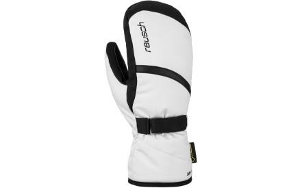 Dámské lyžařské palčáky Reusch Alexa GTX Mitten - white black 5ec466b540