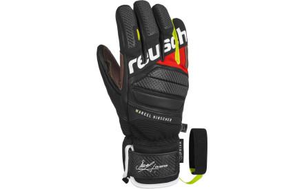 164c21c23 Lyžařské rukavice Reusch Marcel Hirscher - black/fire red