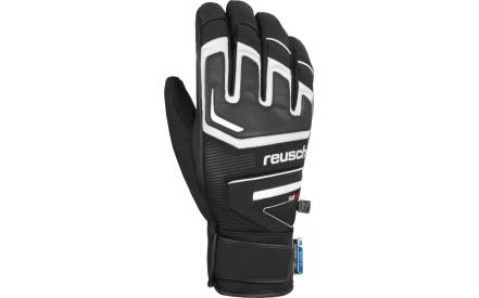 Lyžařské rukavice Reusch Thunder R-TEX XT - white black fc4604a835
