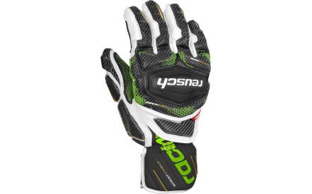 Lyžařské rukavice Reusch Race Tec 18 GS - black white neon green e00567e68c