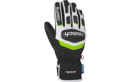 Lyžařské rukavice Reusch Race Training R-TEX XT - black white neon green a24b999b51