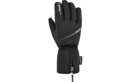 Dámské lyžařské rukavice Reusch Selina GTX - black silver 8273116cee