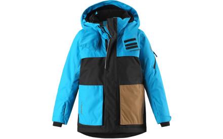 558ab1a097e Dětská membránová bunda Reima Rondane - turquoise