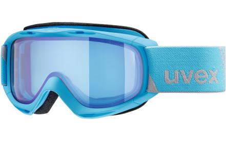6b81ade2f Dětské lyžařské brýle Uvex SLider FM Blue DL/mirror blue blue (S1)