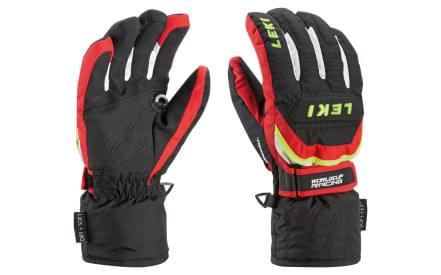 Dětské rukavice Leki Worldcup S Junior – black red white yellow b3e43f447b
