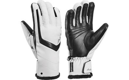 Dámské lyžařské rukavice Leki Stella S Lady white-black 70094151ce