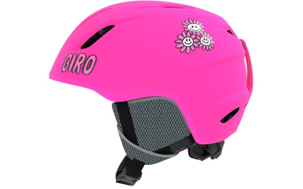 Dětská lyžařská helma Giro Launch Mat Bright Pink Daizee dcdfff31a6f