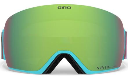 Dámské lyžařské brýle Giro Lusi Silicone Aura Vivid Emerald Vivid Infrared  (2Skla) 8b1d723405d