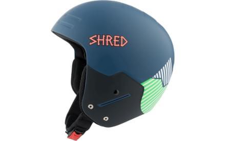 Lyžařská přilba Shred Basher Noshock Needmoresnow - navy blue green e7cb3471940