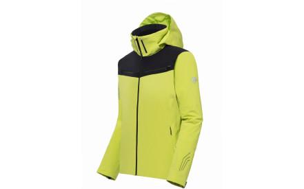 08076a6263e Pánská lyžařská bunda Descente Swiss Ski - lime green