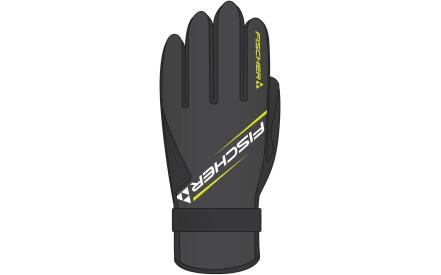 83aed2d65a4 Běžkařské rukavice Fischer XC Glove Performance - Black Yellow