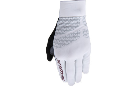 5a32a78f0de Dámské ěžkařské rukavice Swix NaosX Women - bílá