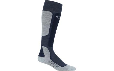 Pánské lyžařské ponožky Icebreaker Mens Ski+ Light OTC - fathom  hthr midnight navy blizzard 2eab912a61