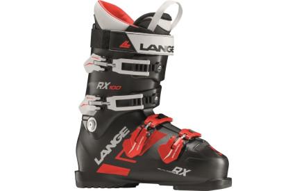 Lyžařské boty Lange RX 100 - black-red 761ab5712c