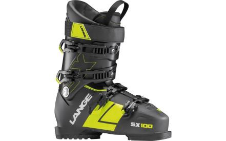 22d2ab5f81b Lyžařské boty Lange SX 100 - anthracite-yellow