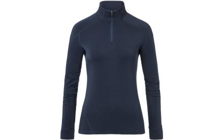 Dámská flísová mikina Kjus Women Trace Halfzip - atlanta blue melange f8189011ef