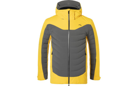 474cc4f3787 Pánská péřová lyžařská bunda Kjus Men Sight Line Jacket - steel grey-solar  power